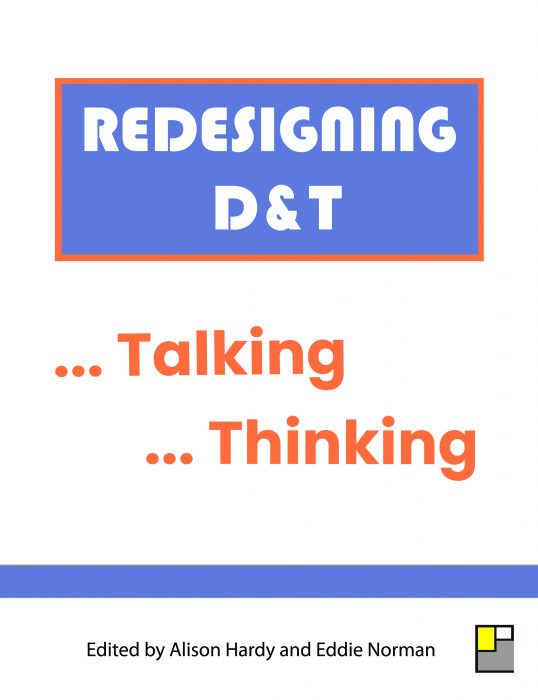 Front Cover for Redesigning D&T ... Talking ... Thinking