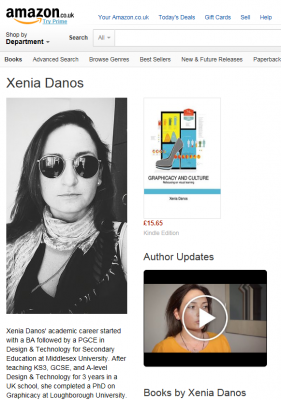 Xenia Danos' Author Page on Amazon