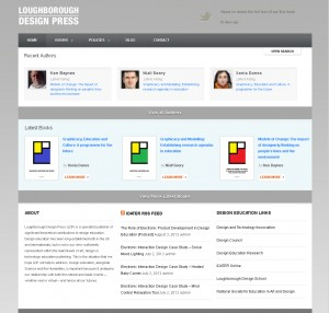 Loughborough Design Press Website