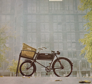 RCA Building with Bicycle